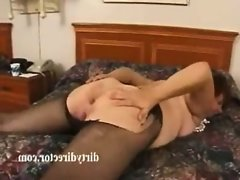 Mature amateur granny in..