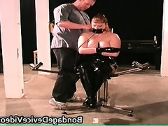 Kinky milf gets tied and..