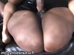 Chubby bbw ghetto black slut..