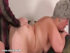 Busty chubby mature slut..