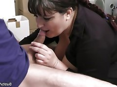 Office sex with busty women..
