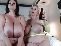 Two bbw having fun