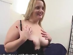 Bbw in lingerie stripped and..