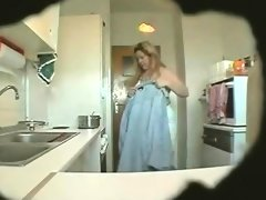 Spy footage mature erika in..